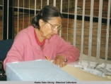 Frederica de Laguna at the Alaska State Library - Historical Collections.