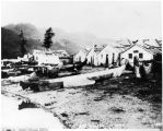 Auk Indian Village, ca. 1880s.