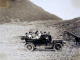 Auto party at Valdez Glacier, July 11, 1909.