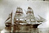 RUFUS E. WOOD sailing ship.