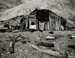 A sealers' shack, Glacier Bay, 1899.