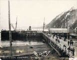 Arrival S.S. OREGON, Seward, Alaska, April 19, 1906.