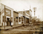 Westside Fourth Avenue, Seward, Alaska, April 19, 1906.