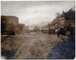 Arrival of Str. PORTLAND, May 22, 1906, Seward, Alaska.