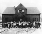 Treadwell School children, ca. 1915.