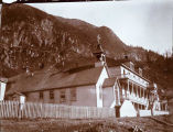 Catholic Church and hospital, Juneau.