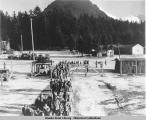 Prisoners of War Camp (German prisoners) Excursion Inlet, Alaska. (3) August-November, 1945.
