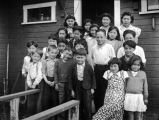 School children, Perryville, Alaska, ca. 1939.