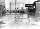 Chena River flood, Fairbanks, Alaska, August 1967.
