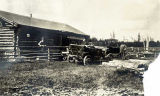 Overland Road House, Mile 50, out of Fairbanks, 1915.