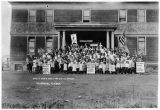Uncle Sam's most patriotic school, Fairbanks, Alaska, ca. 1918.