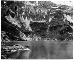North wall of Lake Dorothy, Aug. 28, 1948.