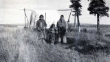 Athabascan women in Allakaket.