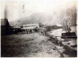 Steamboat landing, Eagle, Alaska, 1901.
