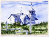 Transfiguration of Our Lord Chapel, Ninilchik, Alaska.