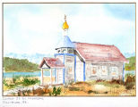 Church of St. Andrew the Apostle, Killisnoo, Alaska.