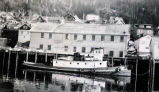 "Mar. 1956 Tug ""MELVILLE"" at Ketchikan."