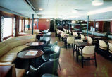[Alaska ferry Wickersham dining area.]