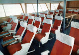 [Alaska ferry Wickersham passenger seats.]
