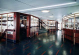 [Alaska ferry Wickersham interior.]