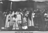 Natives at Nome, July 4th, 1912.