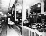 [Goldstein Emporium.  Dry Goods Department; display.]