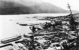 [Panoramic view of Juneau, Alaska looking North from Mount Roberts.]