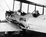 Noel Wien in his Hisso Standard in 1927 on first commercial flight to Nome.