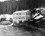 Annex Creek Power House c. 1915.