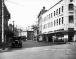 Front Street, Juneau, Alaska   Winter & Pond Co. circa 1930.