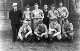 American Legion Base Ball Team Champions.  Juneau City League, 1935.