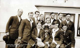 Juneau baseball team on S.S. ALAMEDA, Aug. 4, 1912, on way to Ketchikan.
