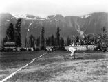 [Valdez baseball game. 1908.]
