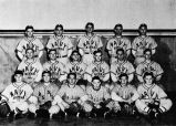 1944 U. S. Navy baseball team and Sitka Champions.
