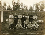 Elk's Base ball team, Anchorage, Alaska 1922.