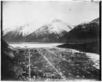 Skagway [from hills looking down Taiya Inlet].