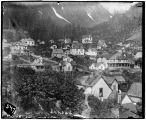 Juneau. [July, 1901, looking toward Mt.  Juneau from Courthouse Hill.]