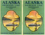 Alaska Princess Line Passenger List, Canadian Pacific Railway.