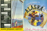 Looking Ahead to Alaska, Alaska Steamship Company.