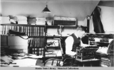 George Parks in the U.S. Land Office, Fairbanks, Alaska, ca. 1914.