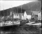 Indian town at Hoonah, Alaska [beach front].