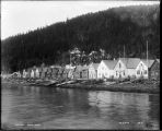 Indian Town.  Hoonah, Alaska [view across water].