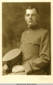 Formal portrait of George Parks in World War I uniform. ca. 1918.