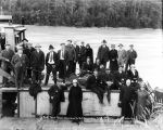 First Taku River excursion to B. C. [British Columbia] boundary, Sept. 9th, 1917.