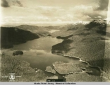 Alaska Aerial Survey Expedition, 1929; Lakes on Kuiu Island.