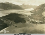 Alaska Aerial Survey Expedition, 1929; Haines, Alaska and Ft.  Seward on Left.
