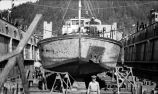 B.S.P. 3144.  Close up on Dry Dock.