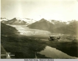 Alaska Aerial Survey Expedition, 1929; Mendenhall Glacier.