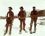 Equipped for work at Eagle River (logging) 1899.