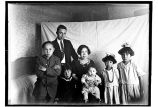 [Peter and Mary Brown and children, Charlie, David, Lloyd, Nellie, and Emma.]